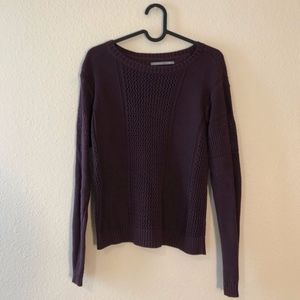 Nordstrom Rubbish purple sweater